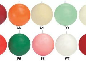 Ball candles