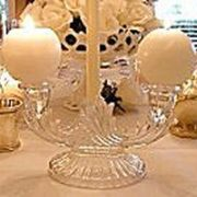 Ball candles used on candlelabra
