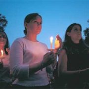 candlelight vigil, candle memorial