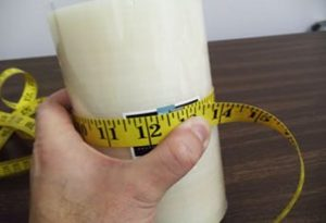 how to measure candles