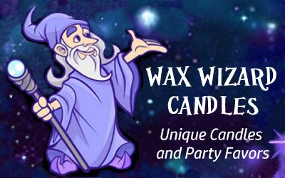 Wax Wizard Candles