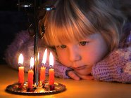 Christmas candle chimes